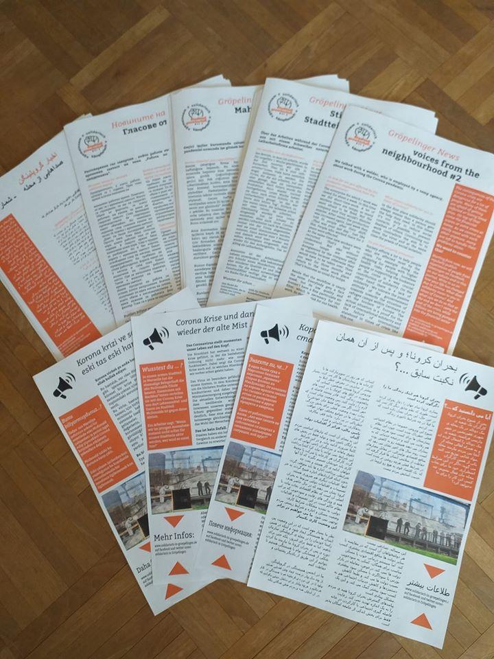 2. Ausgabe der Stadtteilzeitung ist fertig!