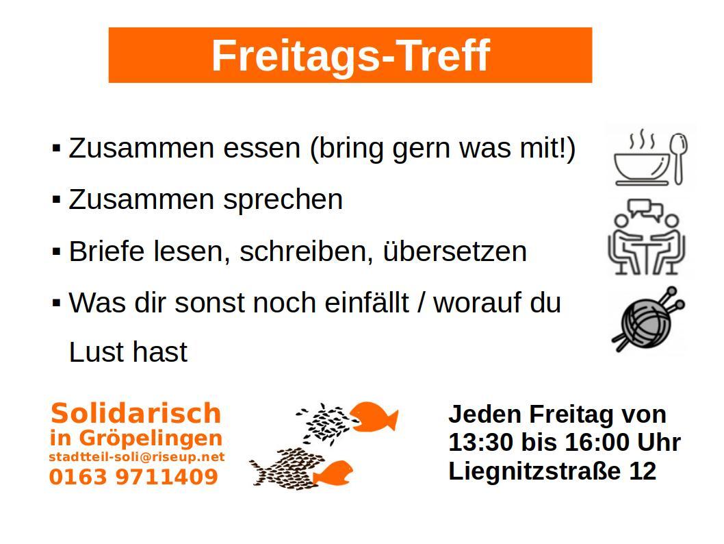 Offener Freitags-Treff