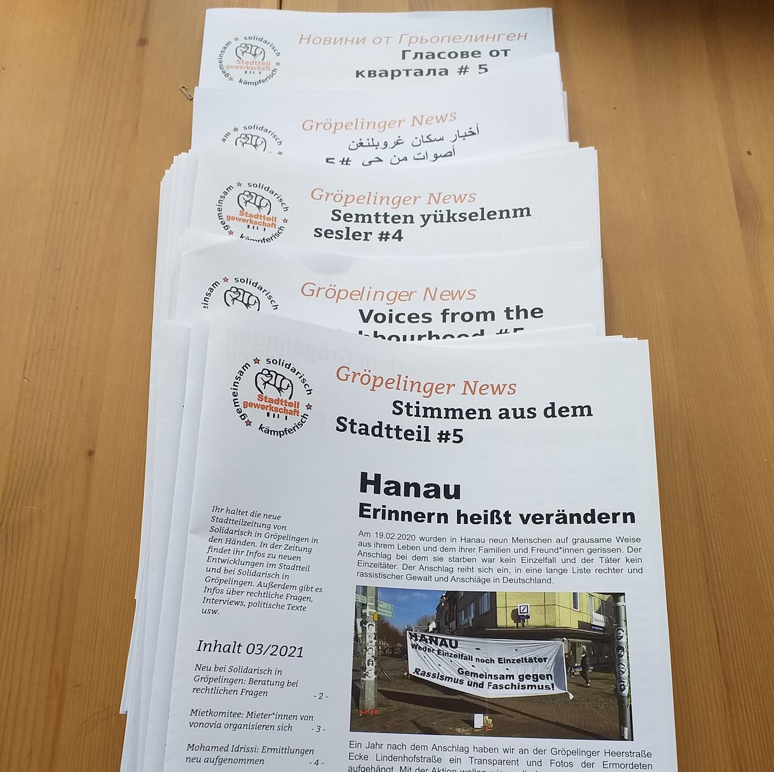 Neue Stadtteilzeitung ist da !!