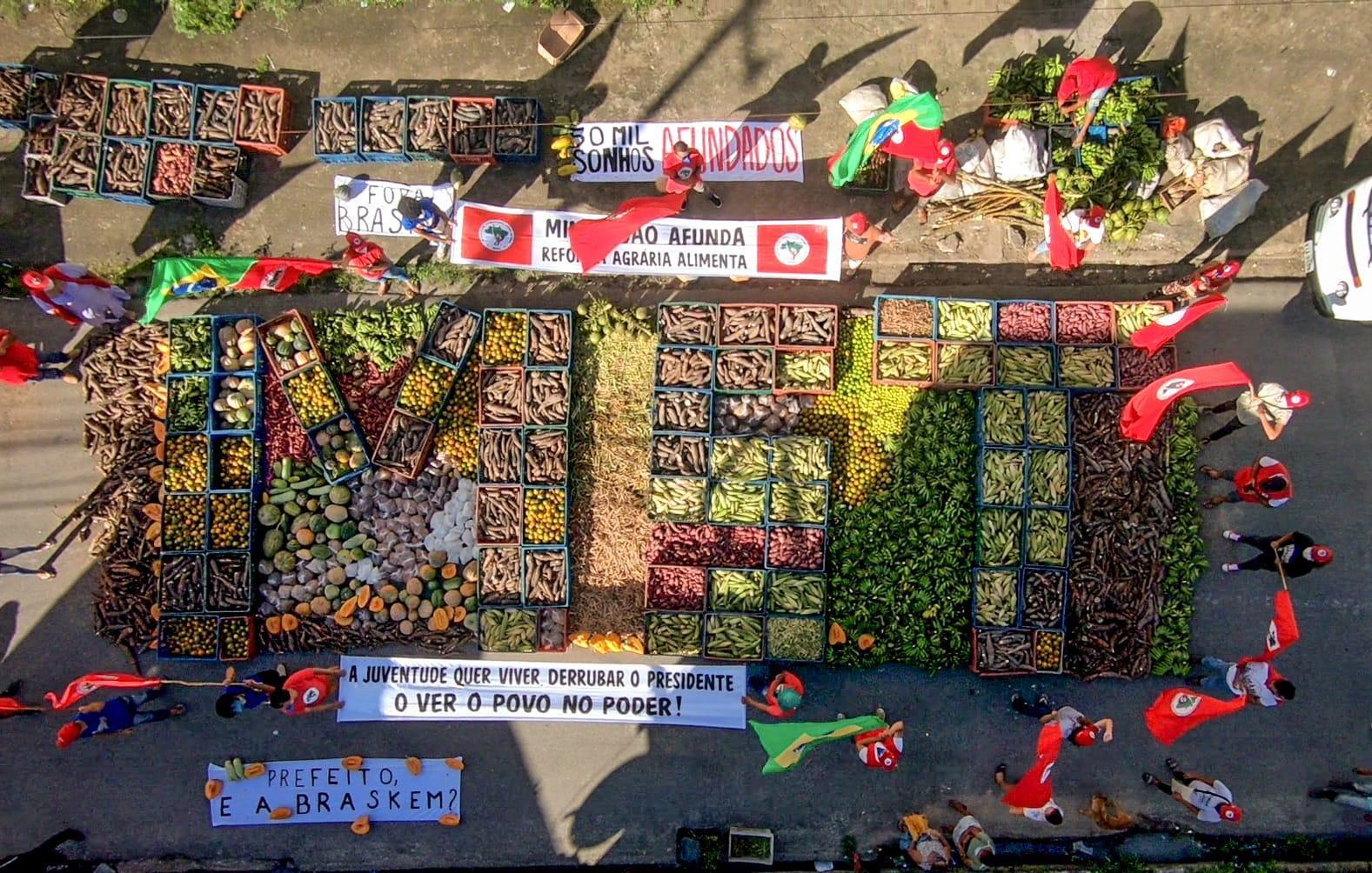 Von unten die Welt verändern: Die Bewegung der landlosen Arbeiter:innen in Brasilien (MST) schickt Grüße an Solidarisch in Gröpelingen